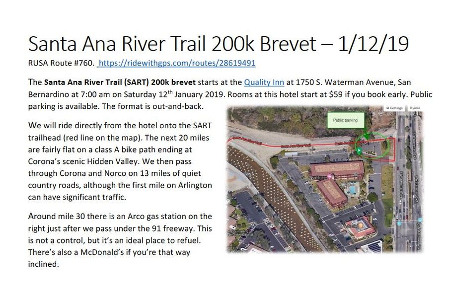Santa Ana River Trail 200k